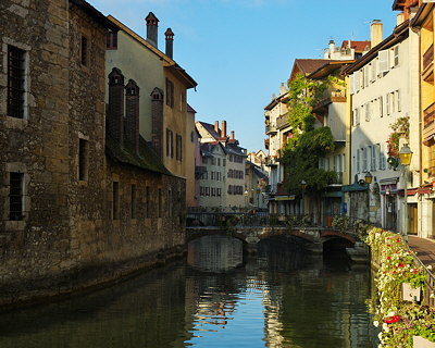 Annecy - The old city around the Thiou river