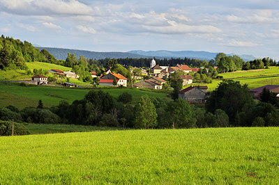 Photograph of Chateau des Pres, rural village in Haut Jura Natural Park