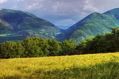 Hautes-Alpes landscape near Notre Dame du Laus