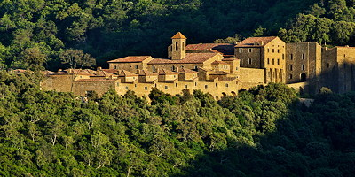 The Verne monastery in Provence