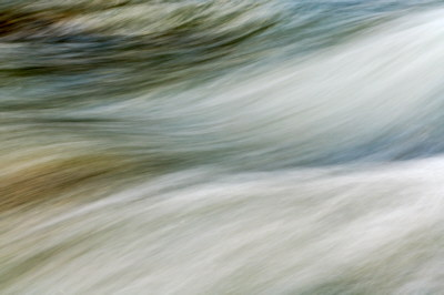The flow in Tagnone river - Corsica