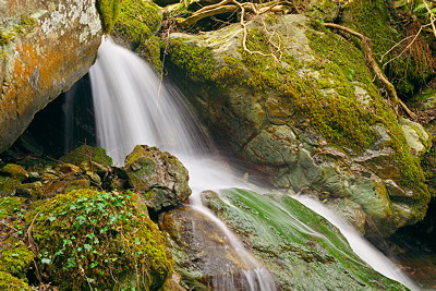 Corsica - Saparelle waterfall