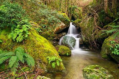 Saparelle waterfall - Corsica