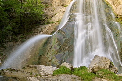 Photo of Dard waterfall in Massif des Bornes, France