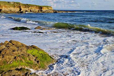 Ocean view in Guidel - Brittany