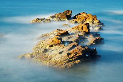 Rocks in the Mediterranean sea