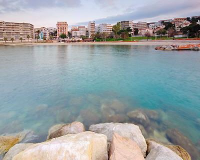 Morning light on Toulon