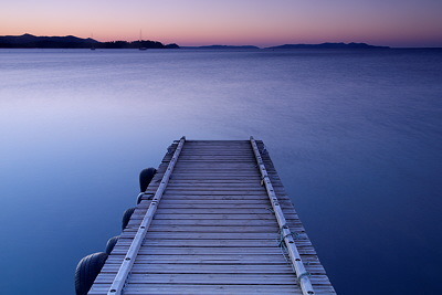Dawn on the Mediterranean sea - La Londe les Maures