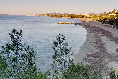 Argentière beach - La Londe les Maures - Provence