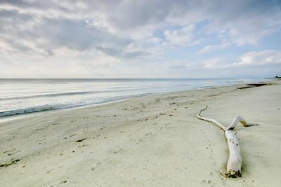 A peaceful morning at Casabianda beach