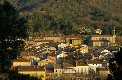 Collobrieres village in Provence