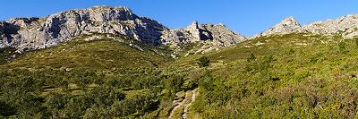 Alpilles panoramic landscapes