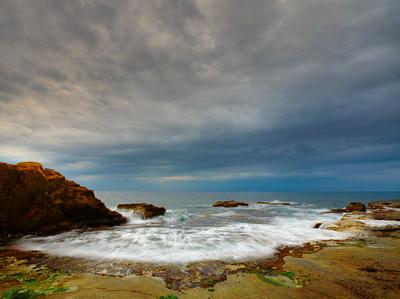 Mediterranean storm - HDR landscape