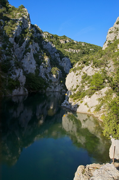 The Verdon river near Quinson