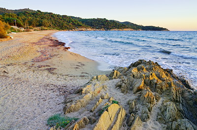 Photo of the mediterranean sea at Gigaro beach near Saint Tropez